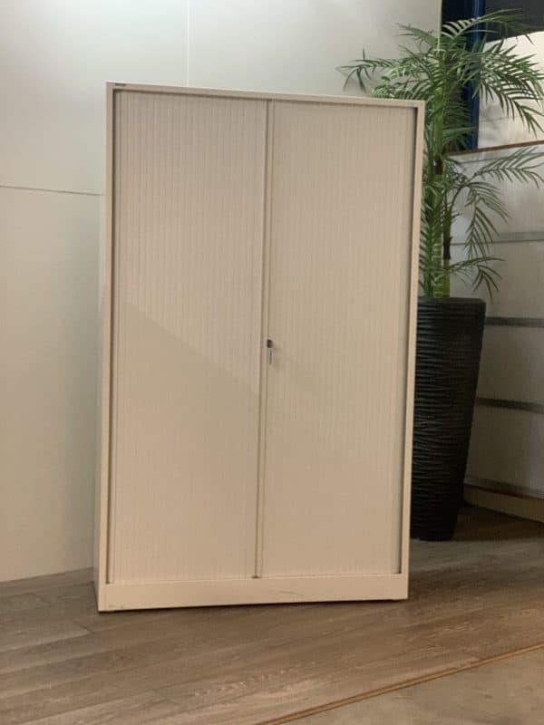 Ahrend 197x120x50 archiefkast/roldeurkast wit